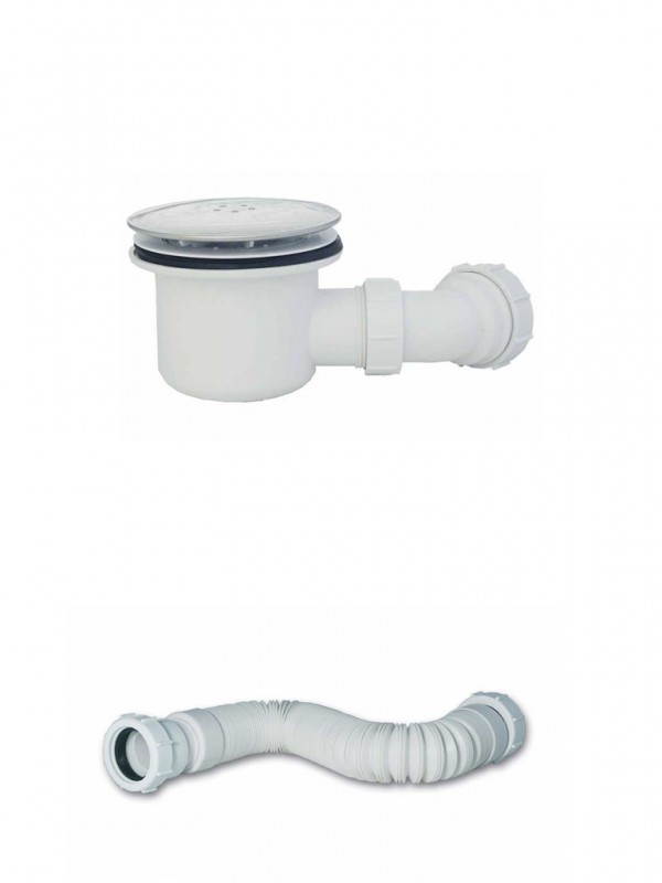 Mx 90mm Hi Flow Shower Waste Amp Flexi Waste Pipe