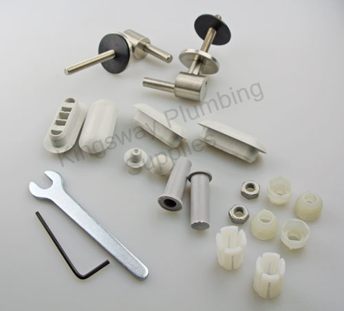 Twyford Galerie Toilet Seat Fittings Top Fix