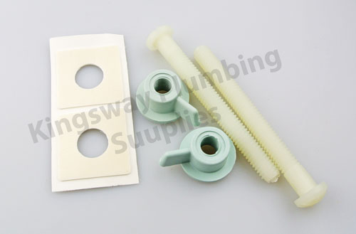 Toilet Seat Tightening Kit.Bemis Fixing Kit 5000ar