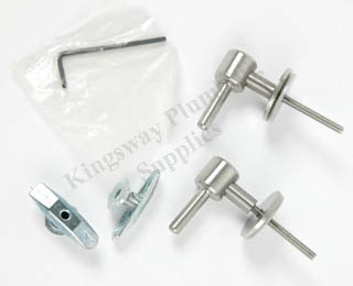 Ideal Standard White Range Seat Hinges New Style